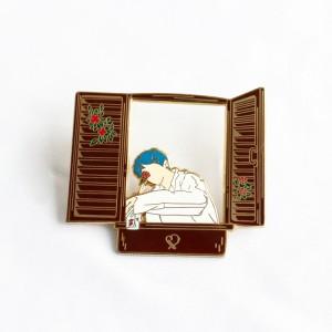 Kunshan China Wholesale Factory Hard soft Enamel Pins Manufacturer Custom Made Kpop Star BTS Pin on lapel pins
