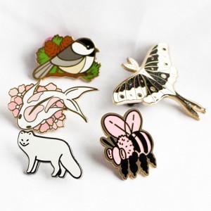China factory make custom metal pins no minimum custom enamel pins lapel badges shop