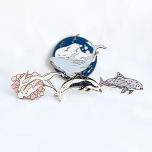 Cute Cartoon Badge Custom High Quality Lapel Pins Kunshan China Metal Pins Manufacturering Wholesale Soft Hard Enamel Pin