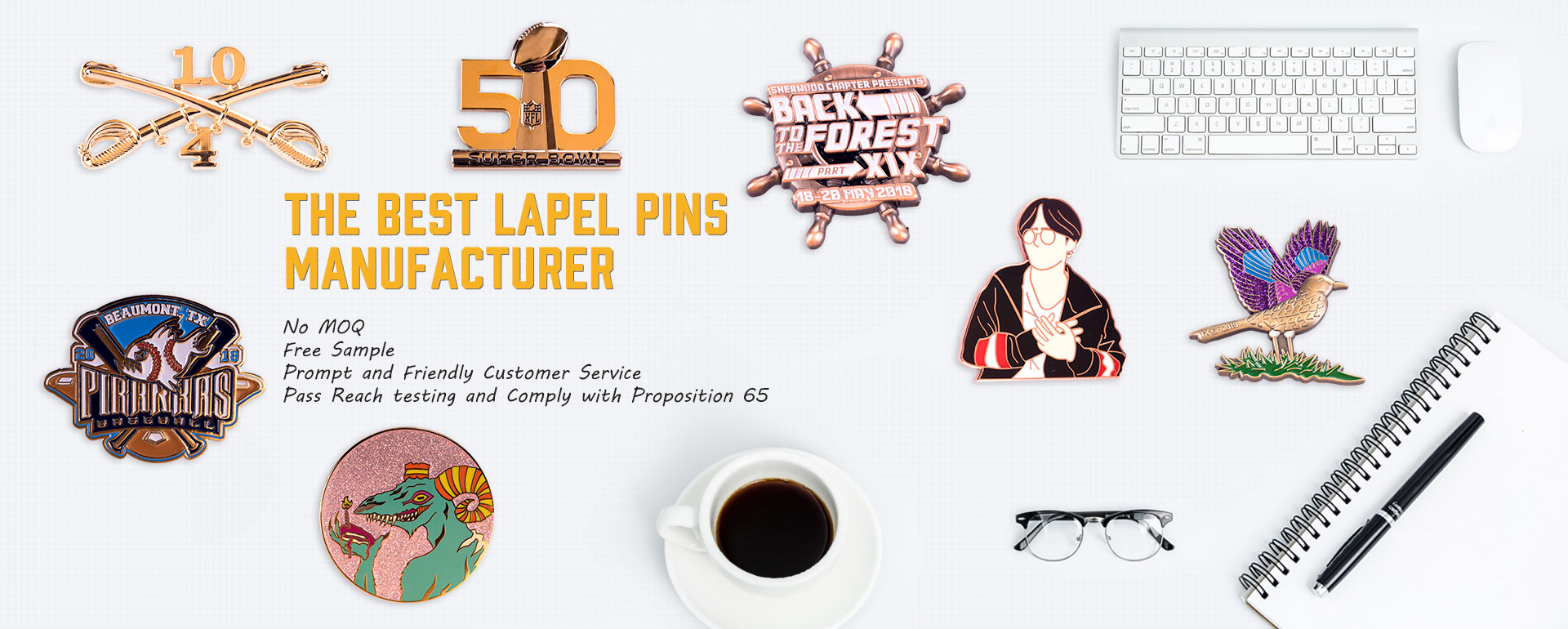 The Best Lapel Pins Manufacturer