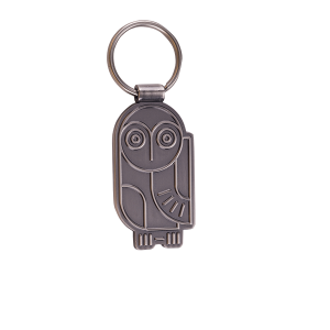 Custom owl key chain
