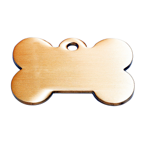 Brushed dog tag