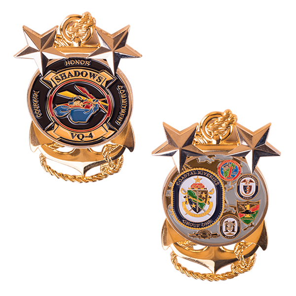 Custom 3D USN challenge coin Featured Image
