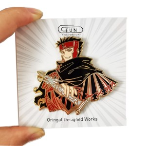 china enamel pins design your own high quality soft and hard anime enamel buttons pin with backing custom