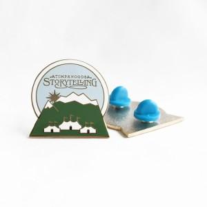 Mountian Enamel Pins Custom High-quality Hard Enamel Lapel Pins Wholesale Metal Badge slider pins