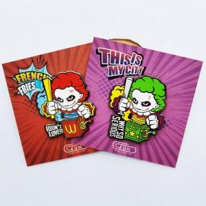 Kunshan China Pin Factory Supplier Metal Badge Brooch BT S Kpop Anime Glitter Pearl Lapel Pin Soft Hard Custom Enamel Pin Custom