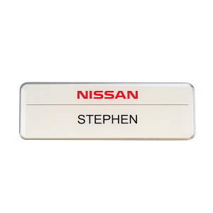 Nissan name badge