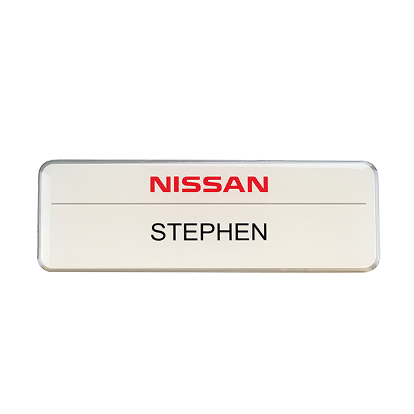 Nissan name badge Featured Image
