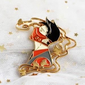 No Minimum China Factory Wholesale Personalized Cartoon Creative Badge Hard Soft Enamel Custom Metal Lapel Pins