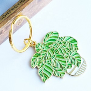Factory custom Cute Zinc Alloy Designer Keychains Different Shaped Metal Key Ring Accessories