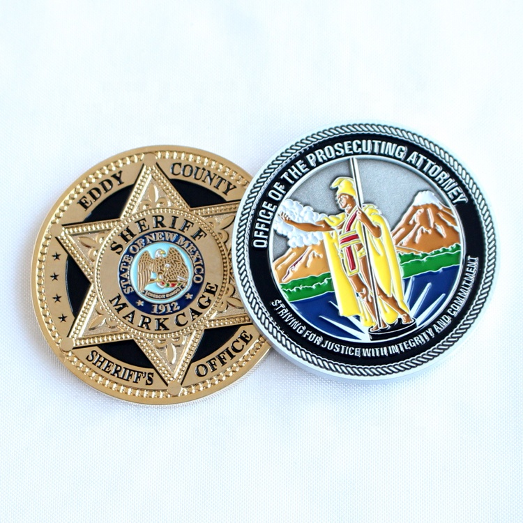 Custom Logo Metal Coins China Coin Manufacturing Wholesale Commemorative Coins for Army Featured Image