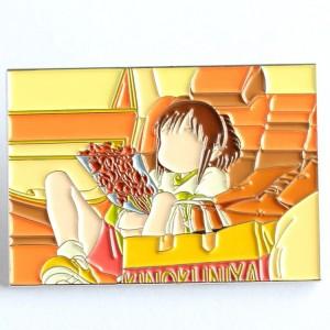 China Factory Wholesale Custom Metal Pearlescent Hard Enamel Pin Badge No Minimum