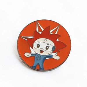 Hot Sales Cartoon Pin China Factory Personalized Hard Soft Enamel Custom Metal Logo Lapel Pins